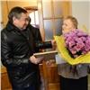 Мэр Ачинска поздравил с90-летием ветерана Великой Отечественной войны
