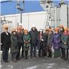 «МРСК Сибири» показала журналистам старейшую подстанцию Красноярска