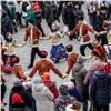 Красноярцы отметили День народного единства гуляньями, хороводом имитингами