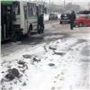 Два автобуса итри легковых автомобиля столкнулись вКрасноярске, есть пострадавшие