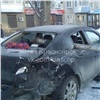 ВАчинске «Ниссан» пробил фонарным столбом припаркованную «Мазду»