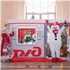 Накрасноярском вокзале заработал почтовый вагон Деда Мороза