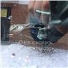 Вкрасноярском Северном разбили автомобиль «вазой для конфет»