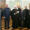 Красноярский митрополит получил медаль отМЧС