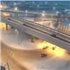 «Тойоту» закружило после ДТП нановой развязке, есть пострадавшие (видео)
