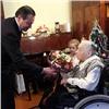 Красноярка вдень 90-летия приняла поздравления отмэра ирассказала оПараде Победы