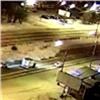 ВКрасноярске лихач «феерично» влетел всугроб (видео)