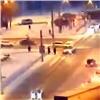 ВКрасноярске скорая помощь сбила пешехода (видео)
