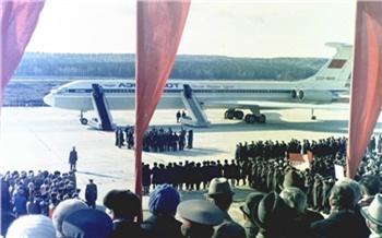 Фотоистория: Как строили и открывали аэропорт «Емельяново»