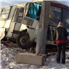 Маршрутка спассажирами разбилась остолб наОктябрьском мосту (видео)