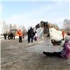 Жалобы наледовый городок наТатышеве проверяют вследственном комитете