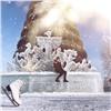 Влюбленная пара победила вконкурсе фотографий вледовом городке Татышев-парка