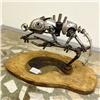 Хамелеона изметалла икуклы ручной работы представили навыставке вКрасноярске