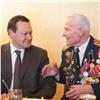 Глава Красноярска поздравил с95-летним юбилеем ветерана войны