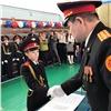 «Мычувствуем гордость исчастье»: Красноярские кадеты присягнули России