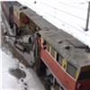 Красноярскую железную дорогу чистят отснега специальными машинами (видео)