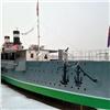 Крейсер «Аврора» появился наЕнисее возле красноярского музея