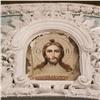 ВКрасноярске под осыпавшейся краской обнаружили лик Христа