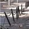 Накрасноярской набережной усилят ограждение пешеходных участков (видео)