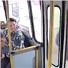 Кондуктор автобуса спасла жизнь пассажиру (видео)