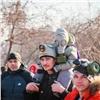 ВКрасноярске митинговали зачистое небо