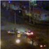 «Враг непройдет!»: автомобиль Росгвардии протаранил «Крузер» нарушителя (видео)