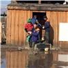 Наюге Сибири талые воды начали наступление нажилые дома
