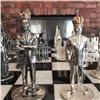 Красноярец показал серебряные шахматы сПутиным