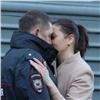 ВКрасноярске сослезами проводили полицейских вкомандировку наКавказ