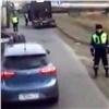 Бастующих дальнобойщиков непустили вКрасноярск из-за теплой погоды (видео)