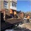 «Жилфонд» завершил обрезку деревьев вкрасноярских дворах