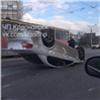Редкая машина эффектно перевернулась вмассовом ДТП наМатросова (видео)