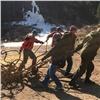 «20мешков истарые тросы»: соблюбованного туристами участка «Столбов» вывезли мусор