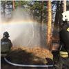 В«Бобровом логу» сотрудники фанпарка иМЧС учились тушить пожары
