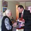 90-летней красноярке передали поздравление отПутина