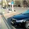 Водителя главного полицейского края поймали напроезде под «кирпич» (видео)