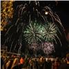 Празднование9 Мая вКрасноярске завершилось ярким салютом