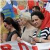 Сотни красноярских предпринимателей вышли намитинг против сноса павильонов