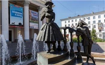 Быки, обнажёнка иКоломбина: самые необычные фонтаны Красноярска