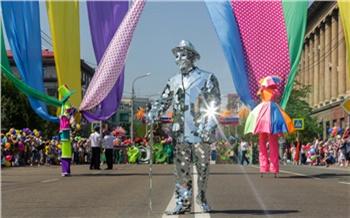 Карнавал ивсе-все-все: как вКрасноярске День города отмечали