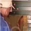 На правобережье в пункте приема стеклотары торгуют алкоголем на розлив (видео)