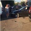 Пьяный водитель скорой помощи вЦентральном районе протаранил две иномарки