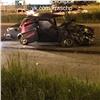 Ночной «гонщик» вСоветском районе отправил вбольницу водителя ВАЗа (видео)