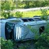 ВКрасноярском крае перевернулся автобус с14пассажирами