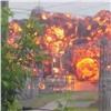 Очевидец снял эффектный взрыв наподстанции вТомске (видео)