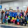 Футболисты-детдомовцы вернулись вКрасноярск смедалями чемпионата мира