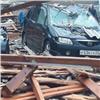 Ваэропорту «Емельяново» гроза обрушила крышу склада (видео)