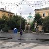 «Инновационные технологии»: очевидцы сняли, как вКрасноярске ночью кладут асфальт (видео)