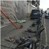 Водитель из-за недомогания сбил пешеходов вцентре Красноярска