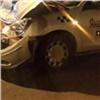 Машина такси разбилась опопутный ВАЗ